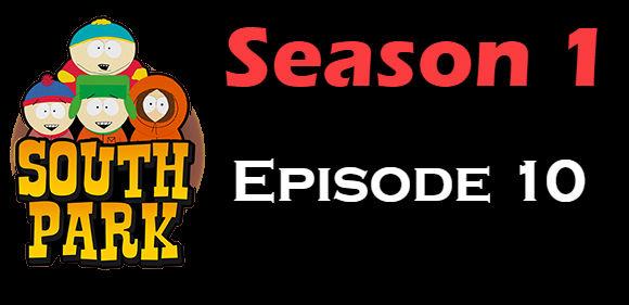 South Park Season 1 Episode 10 TV Series