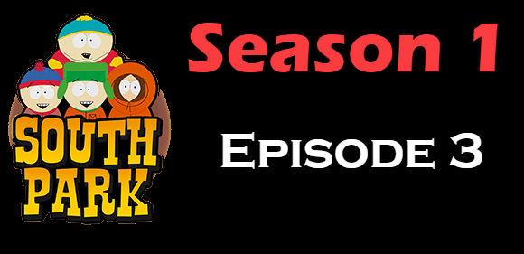 South Park Season 1 Episode 3 TV Series
