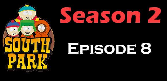 South Park Season 2 Episode 8 TV Series