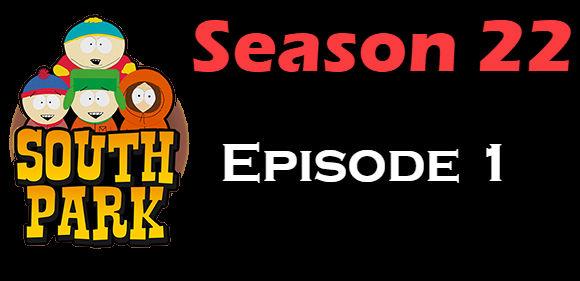 South Park Season 22 Episode 1 TV Series