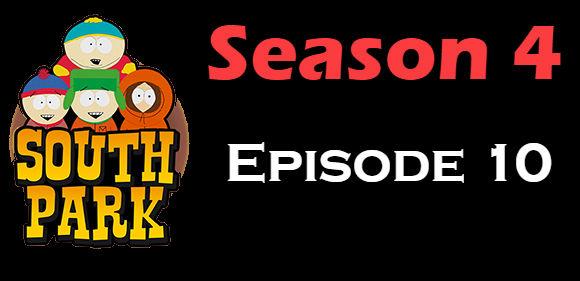 South Park Season 4 Episode 10 TV Series