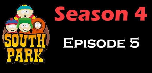 South Park Season 4 Episode 5 TV Series