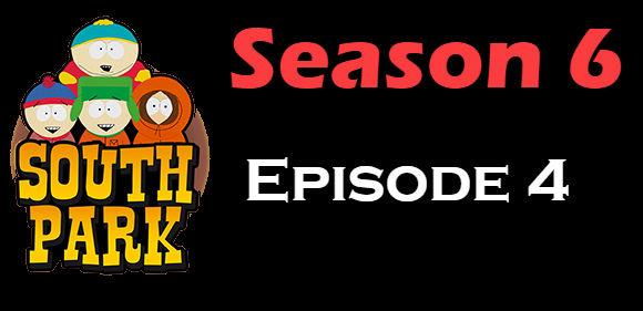 South Park Season 6 Episode 4 TV Series