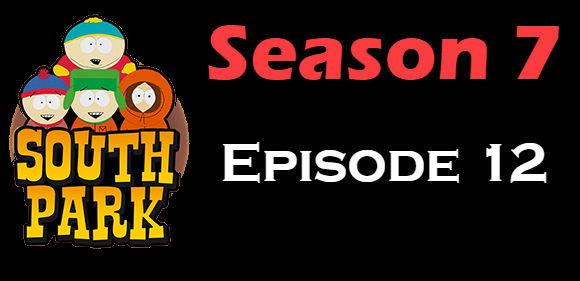 South Park Season 7 Episode 12 TV Series