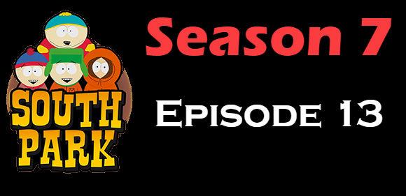 South Park Season 7 Episode 13 TV Series
