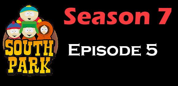 South Park Season 7 Episode 5 TV Series
