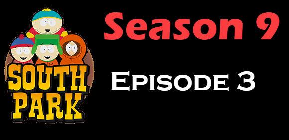 South Park Season 9 Episode 3 TV Series